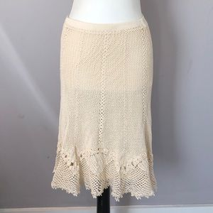 Cynthia Steffe Crochet Skirt! NWT! Small